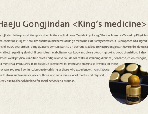 Haeju Gongjindan  <King's medicine>